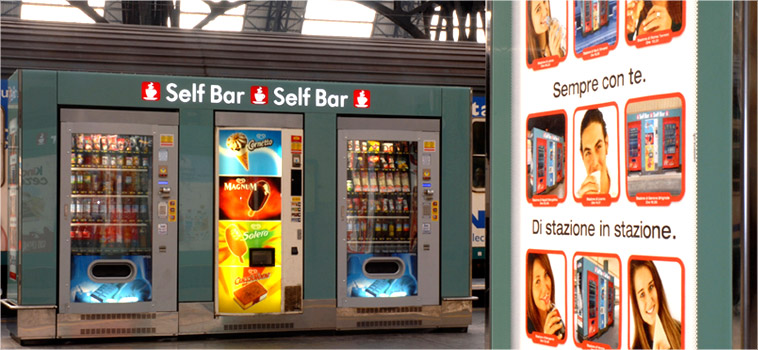 Self Bar - distributori automatici in stazione